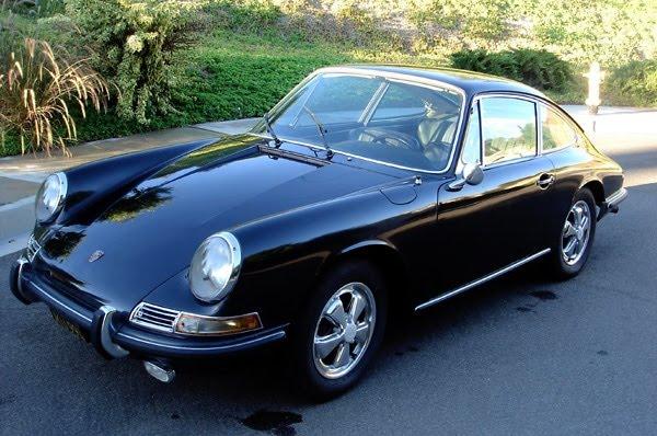 Plus belles voitures de collection - 1967 Porsche 911S