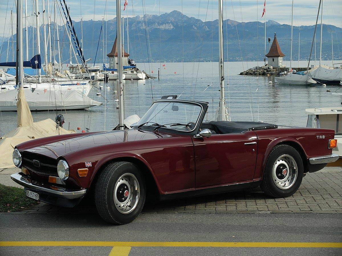 Plus belles voitures de collection - Triumph TR6