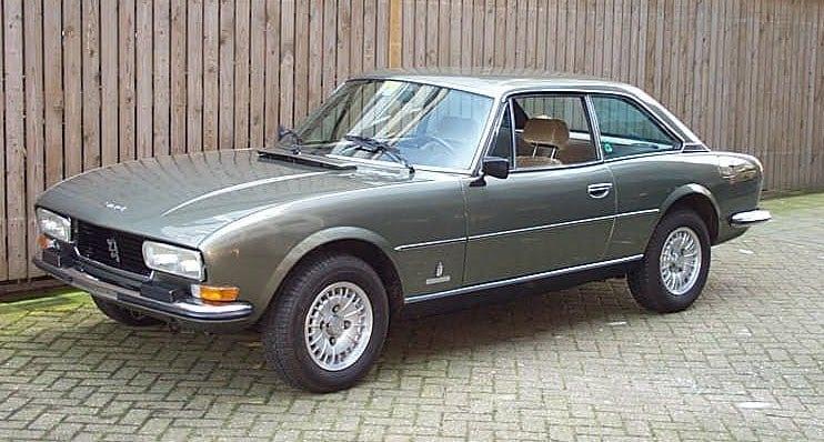 Coupé Peugeot 504 de 1978
