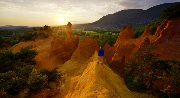 Les couleurs incroyables du Colorado… dans le sud de la France