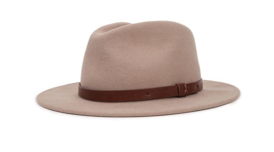 Chapeau Fédora en feutre Brixton : 77€ chez Traclet