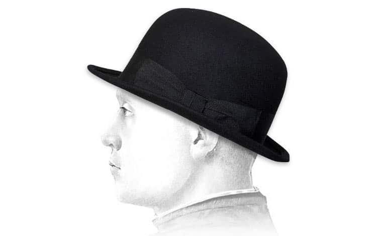 Chapeau melon homme : 35€ chez Headict