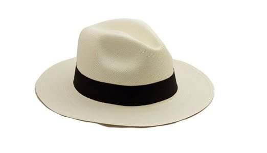Chapeau Panama traditionnel : 56,95€ sur Amazon
