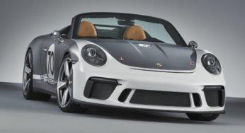 Porsche 911 Speedster Concept : un joli cadeau