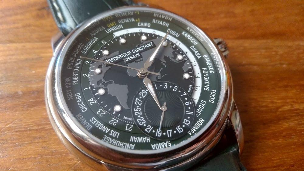 Montre Frédérique Constant Classic Manufacture Worldtimer