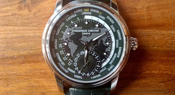 [TEST] Frédérique Constant Classic Manufacture Worldtimer : tour du monde autour du cadran