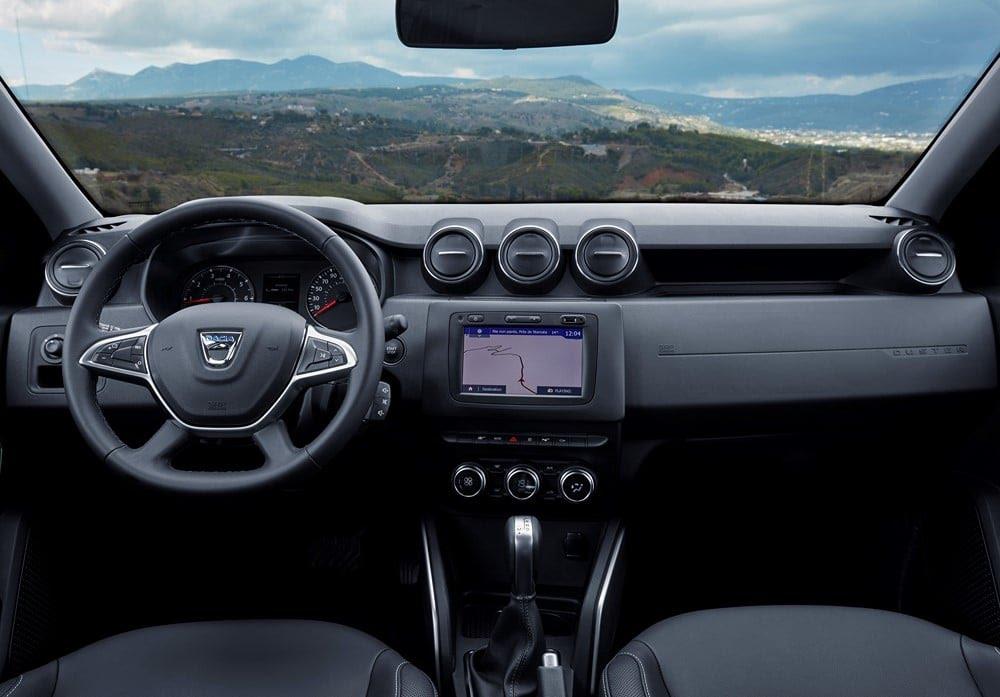 Intérieur du Dacia Duster