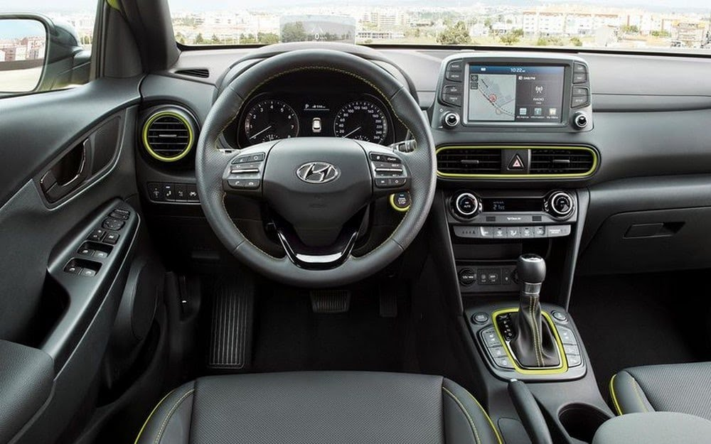Intérieur du Hyundai Kona