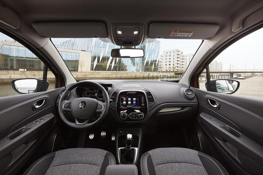 Intérieur du Renault Captur