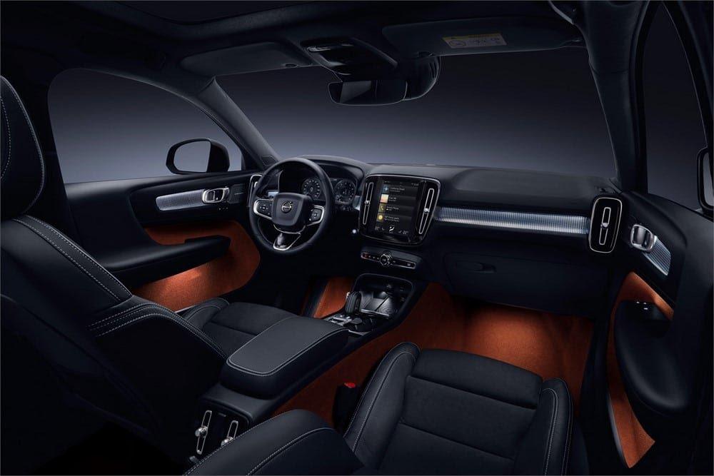 Intérieur du Volvo XC40