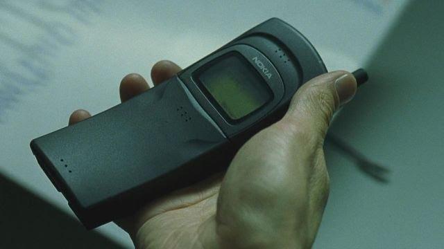 Le Nokia 8110 original dans Matrix