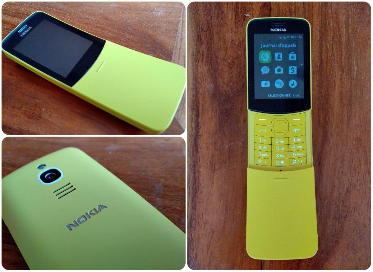 Gros plan sur le nouveau Nokia 8110 4G