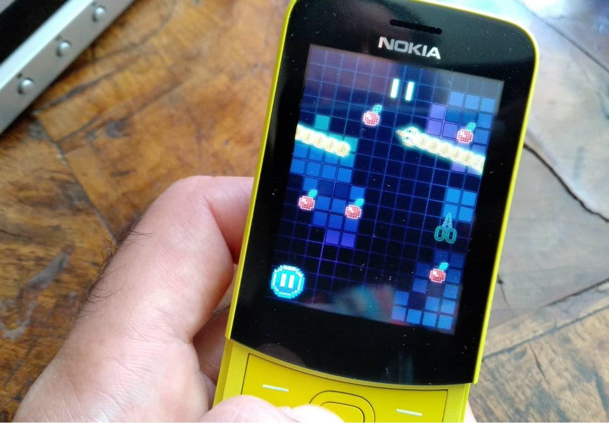 Le Snake sur le Nokia 8110 4G