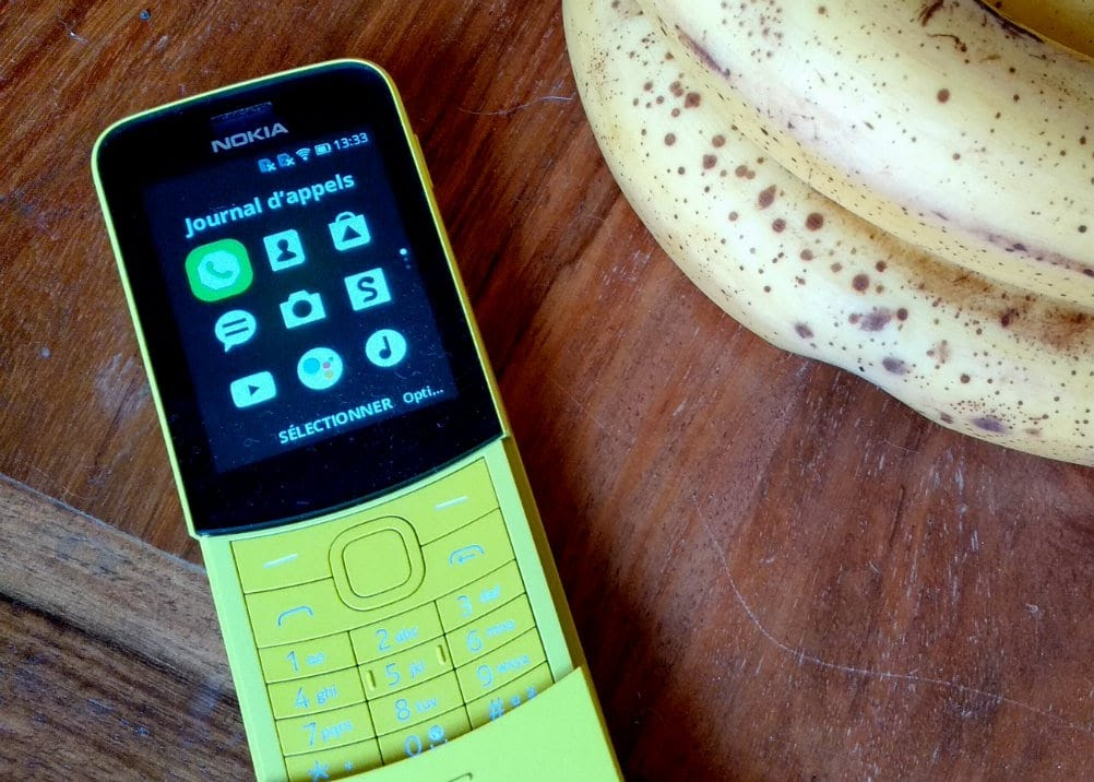 Nokia 8110 4G, le retour du banana phone