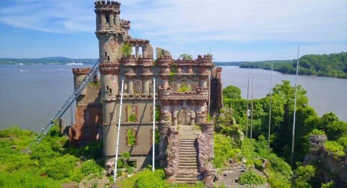 Mais quel est ce château abandonné non loin de New York ?