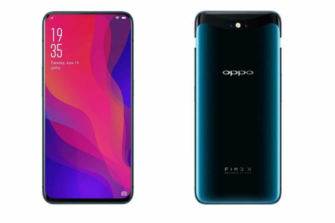 Nouveau smartphone Oppo Find X