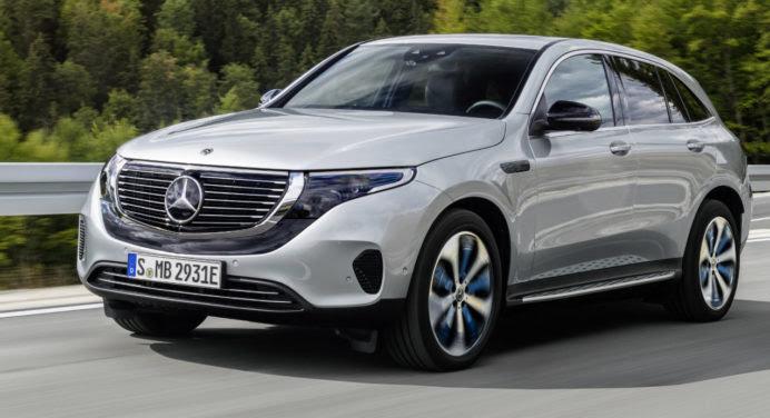 Mercedes EQC : objectif Tesla !