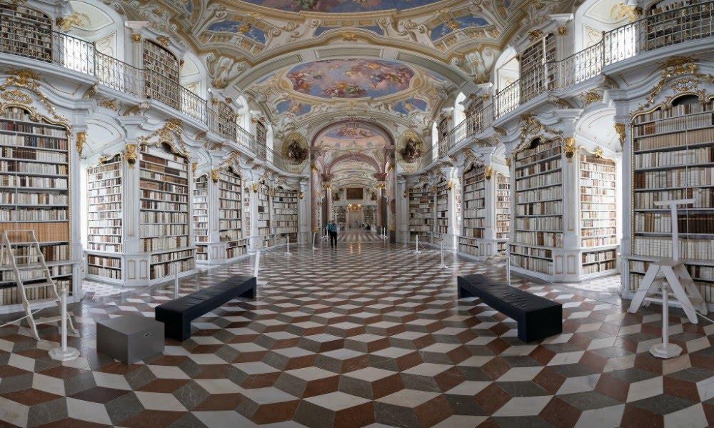Bibliothèque de l'abbaye d'Admont, en Autriche