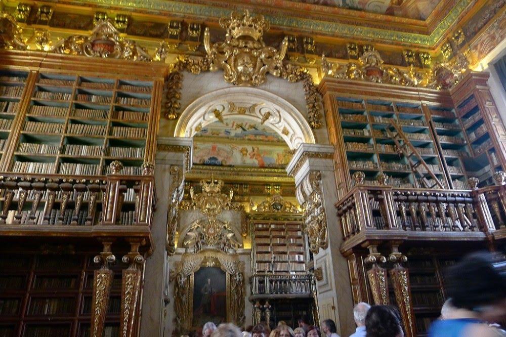 Bibliothèque Joanina de Coimbra, au Portugal