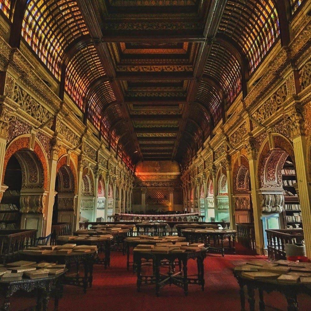 Connemara Public Library de Chennai, en Inde