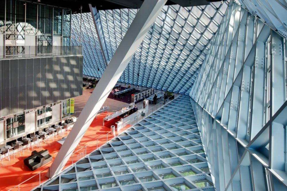 Seattle Public Library, aux USA