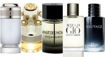 Les parfums pour homme les plus vendus en 2018