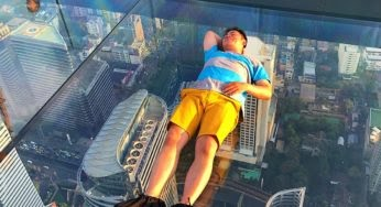 A 300m au-dessus du vide à Bangkok
