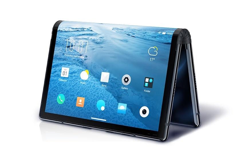 Le Royole FlexPai, premier smartphone avec écran pliable