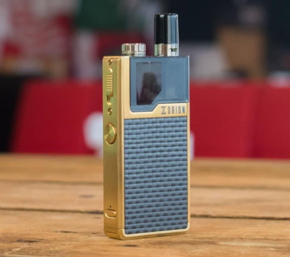 Cigarette électronique : le pod Orion DNA, high-tech et stylé