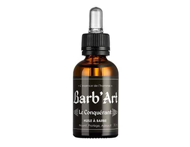 Meilleure huile à barbe 2021 - Avis sur Le Conquérant Barb'Art