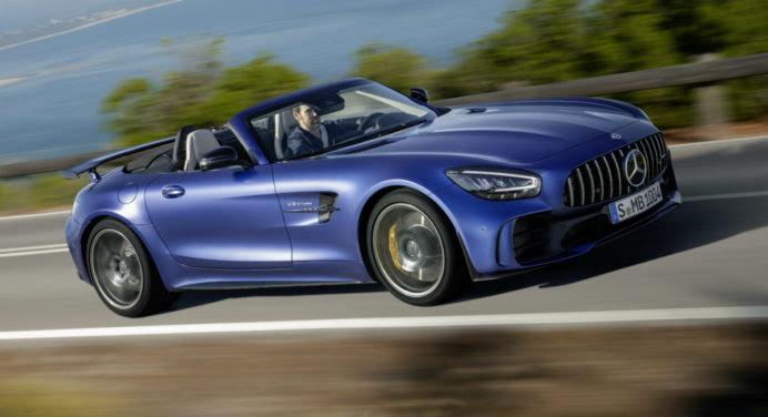 Mercedes-AMG GT R : un roadster beau et musclé