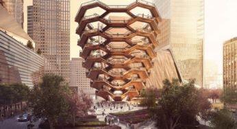 The Vessel : New York a désormais sa propre Tour Eiffel !