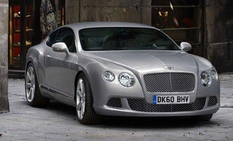 Bentley - continental 2010