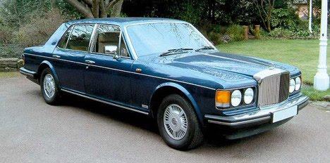 Bentley - Mulsanne 1985