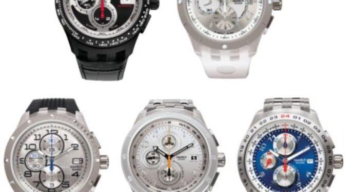 Montres Swatch : un Chrono qui change les habitudes