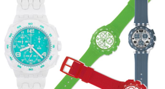 Montre Swatch : le Chrono passe au Plastic