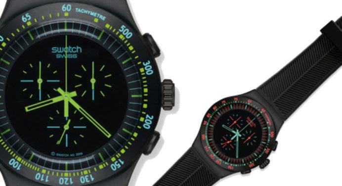 Montres Swatch: l'élégance du Black Chrono