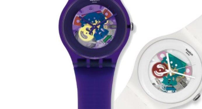 New Gent Lacquered : la montre squelette vue par Swatch