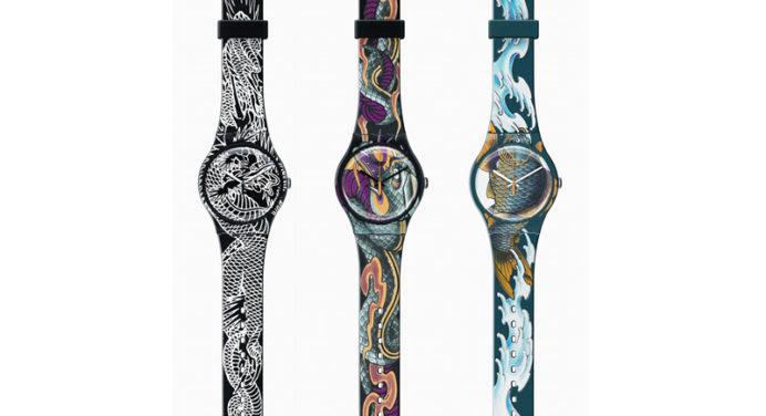 Montres Swatch: une collection dédiée au tatouage