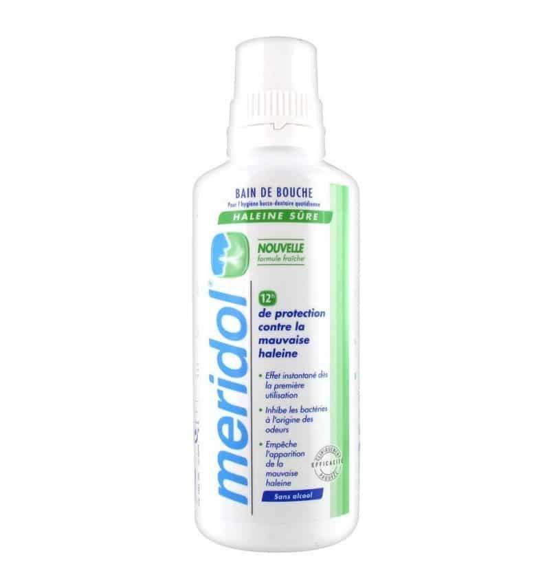 Bain de bouche pour halitose Meridol