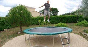 Les trampolines, un terrain de jeu pour toute la famille
