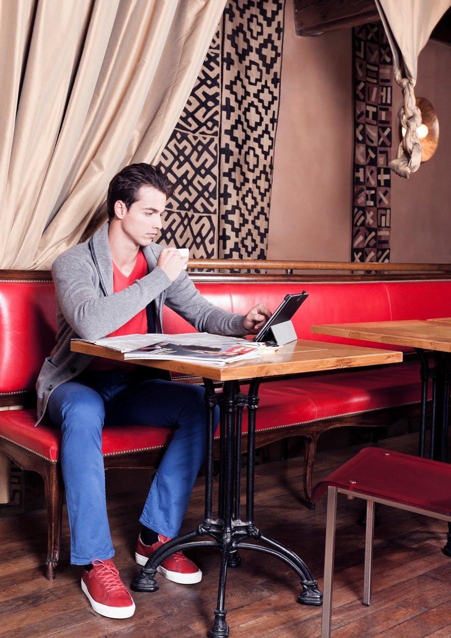 Look du business-man : au restaurant