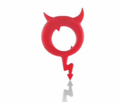 Cockring Devil Ring