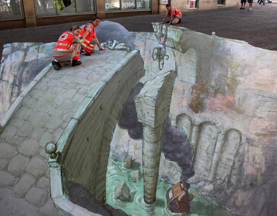 Street Art - Gouffres