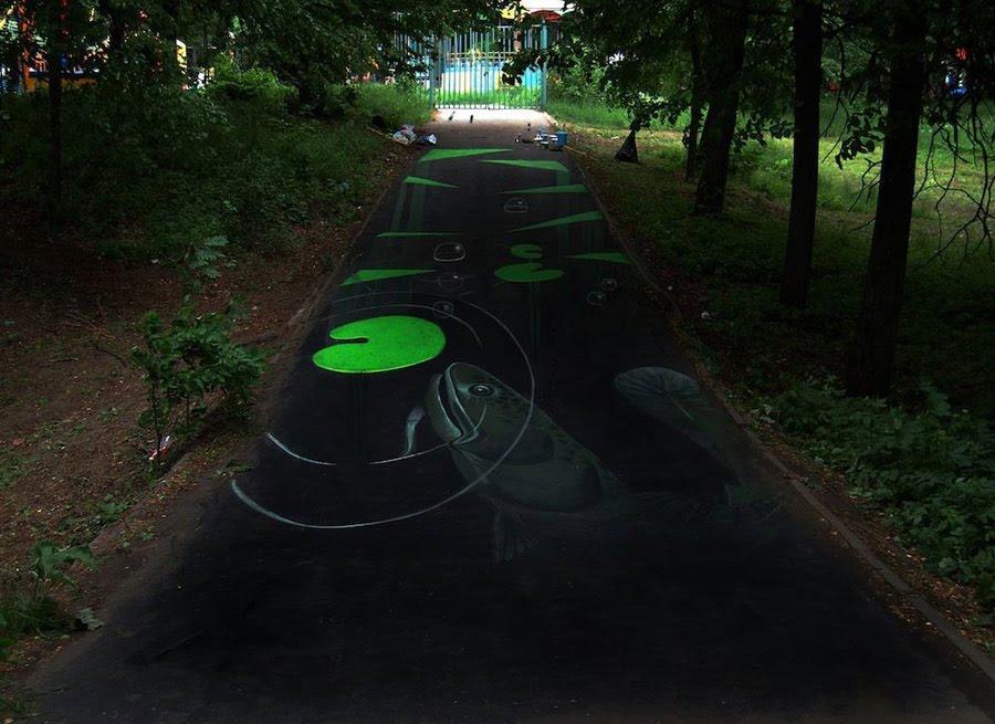 Street Art - Nénuphars