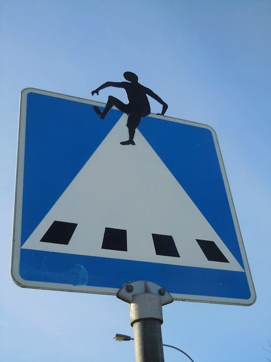 Street Art - Panneau