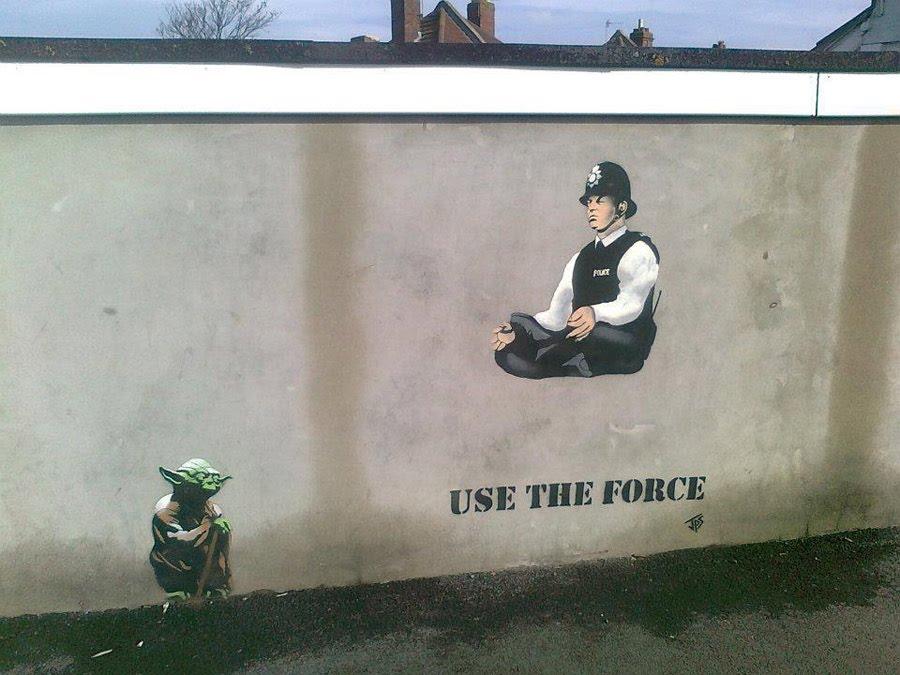Street Art - Yoda