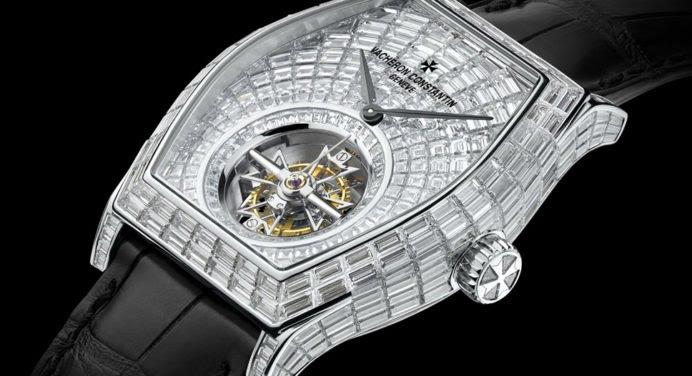 Vacheron Constantin: une montre exceptionnelle sertie de 418 diamants