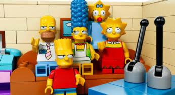 Une incroyable maison en Lego pour les Simpson