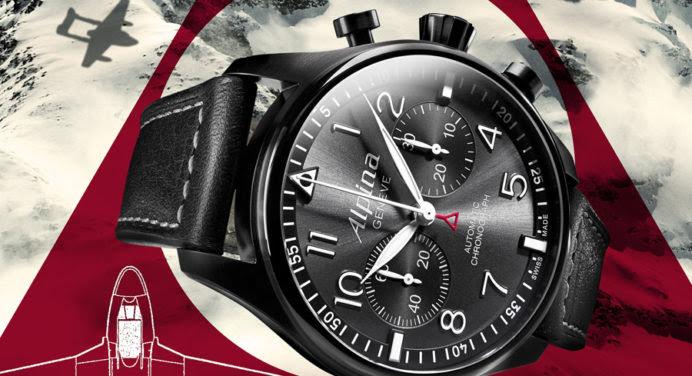 Alpina Startimer Pilot Chronographe Black Star: une montre de haut vol